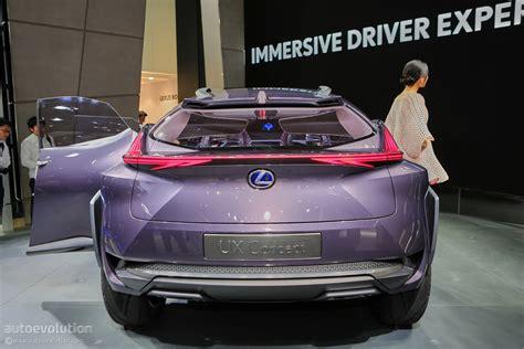 Lexus Ux Concept Looks Out Of Place At 2018 Paris Motor