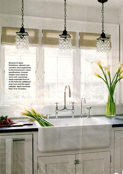 chandeliers  farmhouse kitchen sink nickel faucet