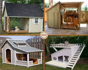 diy dog house projects with free plan wwwfabartdiycom With cool dog houses for sale