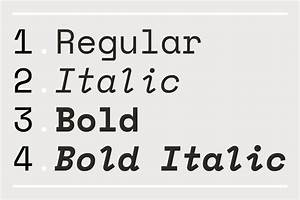 Introducing Space Mono a new monospaced typeface by ...