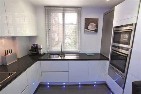 white gloss kitchen design modern kitchen london  lwk kitchens london