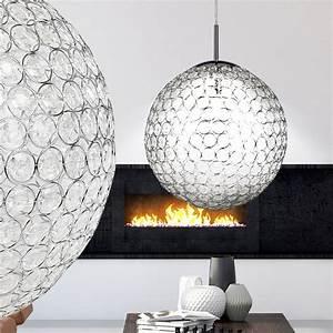 Lampe Mit Kristallen : hochwertige pendellampe aus chrom mit kristallen konda lampen m bel r ume wohnzimmer ~ Orissabook.com Haus und Dekorationen