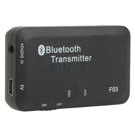 bluetooth audio transmitter 3 5mm audio bluetooth transmitter a2dp stereo dongle adapter for mp3 tv ipod psp 6920482357888