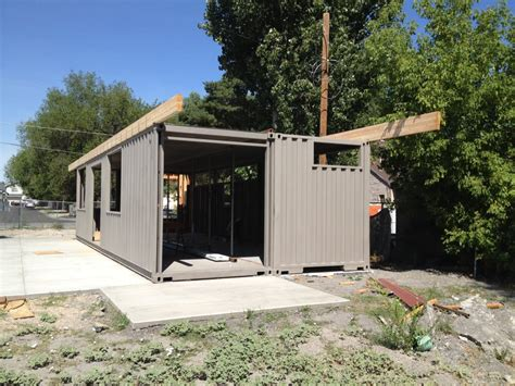 cargo container homes shipping container homes 2x 40ft shipping container home sarah house project glendale