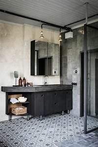 Salle De Bain Style Industriel : quelle couleur salle de bain choisir 52 astuces en photos ~ Dailycaller-alerts.com Idées de Décoration