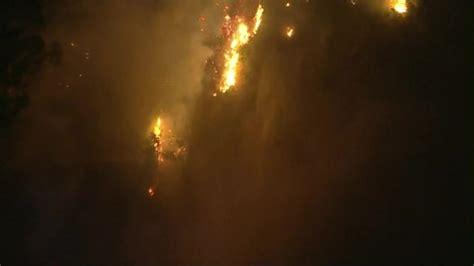 FOX 5 San Diego - A brush fire is burning in Hacienda...