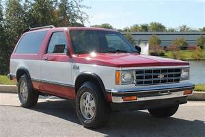 1985 Chevrolet S10 Blazer Tahoe Edition 2 8l V6 4x4 Manual