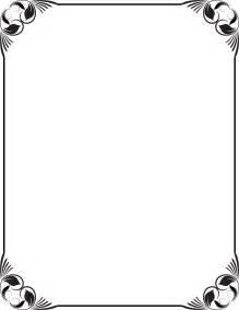 paper flower 15 black vintage frame vector png images black and white