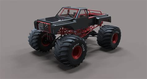 monster truck   models