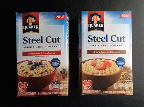 Quaker Steel Cut Oats Microwave Nutrition