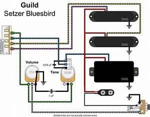 Guild Brian Setzer Bluesbird