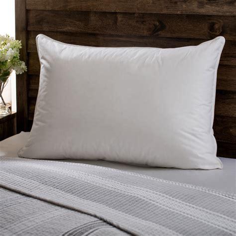 shredded memory foam pillow european heritage opulence hypoallergenic firm white