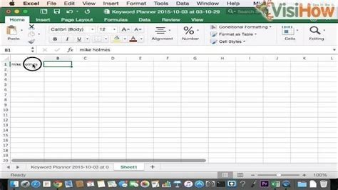 Letter Exle by Capitalize Letters Of Words In Cells In Excel Visihow
