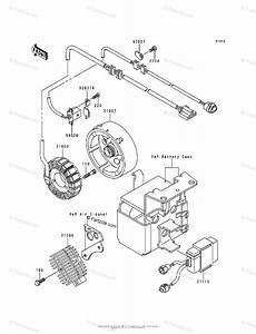 Kawasaki Atv 1995 Oem Parts Diagram For Generator
