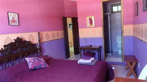 chambre violette chambre indienne violette chambres d 39 hôtes b b pousada