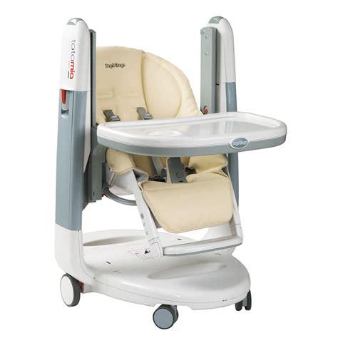 chaise de bébé chaise haute bébé tatamia de peg perego sur allobébé