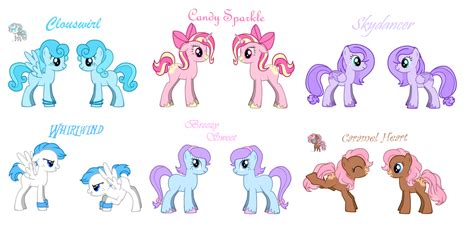 Pony Ocs With Pony Creator By Luciekj On Deviantart