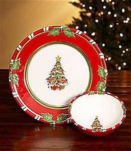 pin by erica castillo on holiday dinnerware plates With christopher radko letters to santa dishes