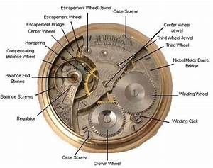 Internal Works Of A Pocket Watch