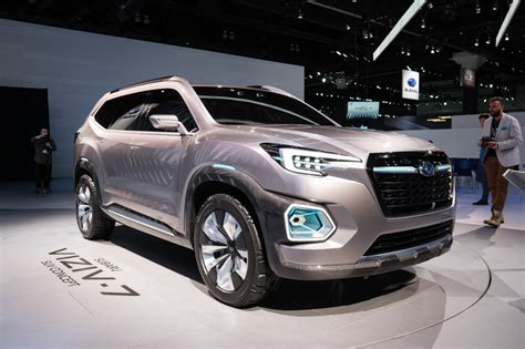 subaru suv subaru viziv 7 first look subaru 39 s large suv is coming to