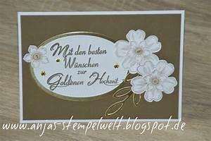 Karte Zur Hochzeit : karte zur goldenen hochzeit anjas stempelwelt ~ A.2002-acura-tl-radio.info Haus und Dekorationen
