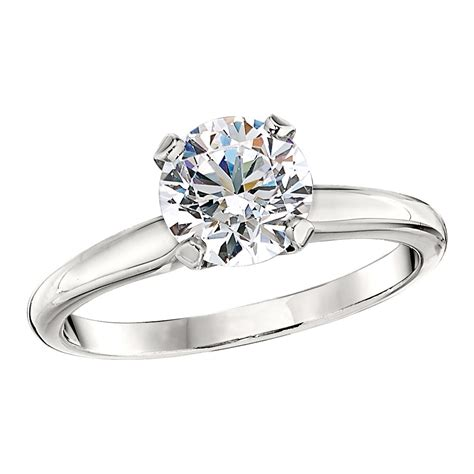 die struck classic solitaire engagement ring settings