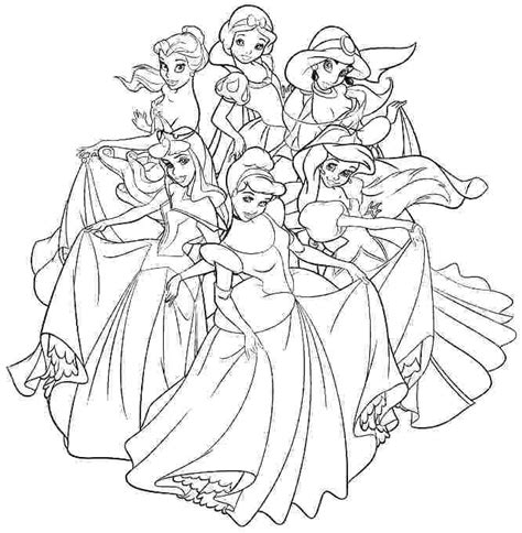 disney princess coloring pages   getcoloringscom