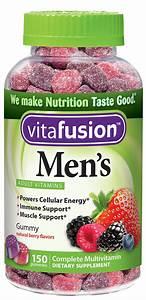 Vitafusion Men U0026 39 S Gummy Vitamins 150 Count Pack Of 1