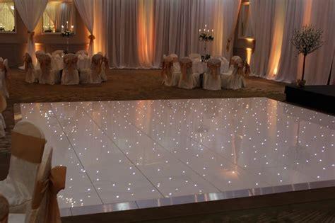led dance floor wow weddings wedding flowers