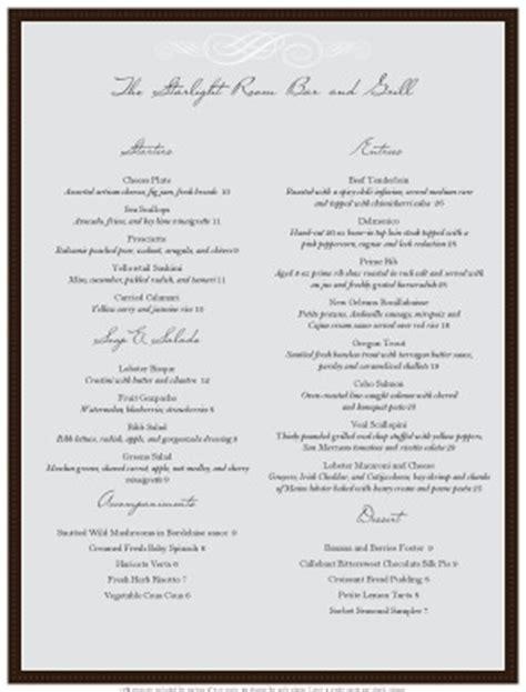 dining menu template free restaurant menu templates musthavemenus