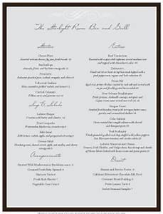 restaurant menu templates musthavemenus With fine dining menu template free