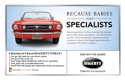 The company offers classic auto (including trucks and. Drive Your Collector Car - Henrich Insurance Group
