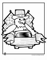 Coloring July 4th Pages Parade Printables Eagle Summer 2009 sketch template