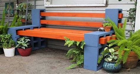 idees deco jardin realisees avec des parpaings idee