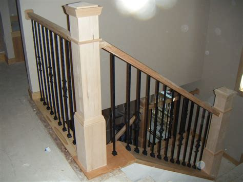 Stair Railing, Newles Posts
