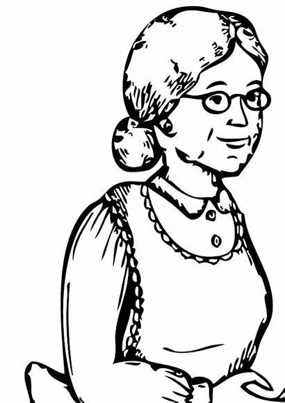 Grandma Grandmother Clip Clipart Granny Panda Cliparts