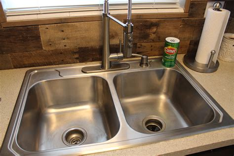 bed   clean kitchen sink simply house  home