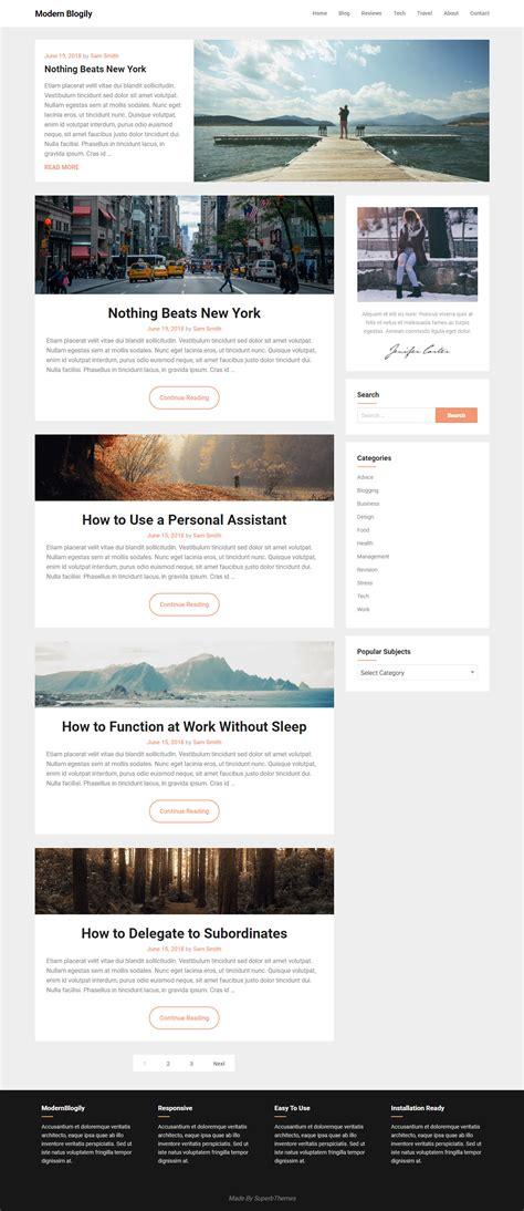 Free Minimal Themes 10 Best Free Minimal Themes Accesspress Themes