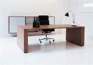 Modern Wood Desk Contemporary Office Desk Wood Pbstudiopro ...