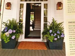 Front, Porch, Flowers, For, Summer