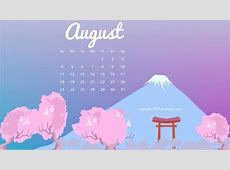 August 2019 iPhone Calendar Wallpaper Calendar Template