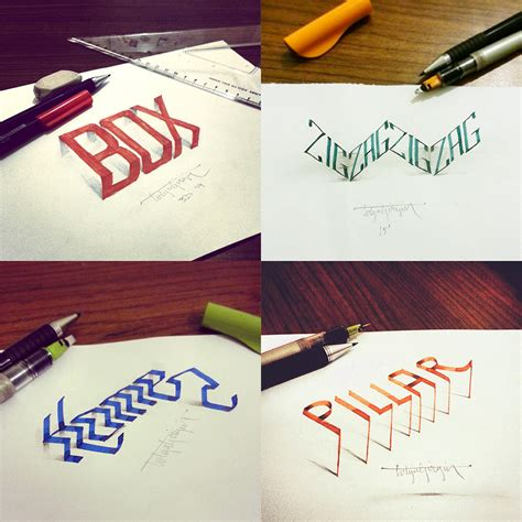 3d calligraphy experiments by tolga girgin colossal