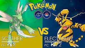 Pokémon GO Gym Battle ☢ Scyther vs Electabuzz - NONE WON ...