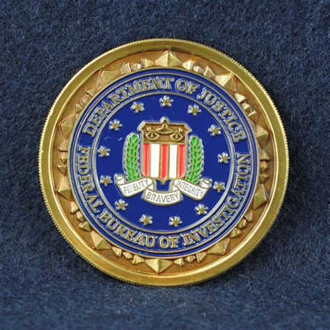 fbi bureau of investigation federal bureau of investigation fbi challengecoins ca