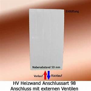 Heizkörper Vorlauf Rücklauf Anschluss : arbonia heizwand anschluss 98 von unten ~ Orissabook.com Haus und Dekorationen