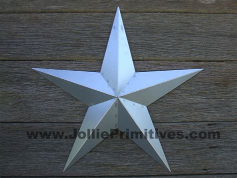 72 Inch Unfinished Large Metal Star, Heavy Duty Amish Barn