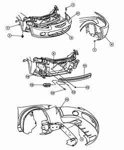 2001 Chrysler Sebring Convertible Lxi 2 7l V6 A  T Absorber