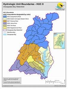 Map  Hydrologic Unit Boundaries - Huc 8