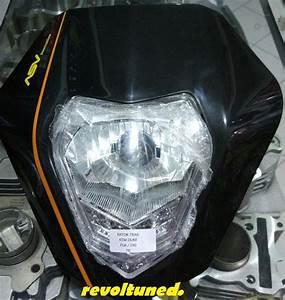 Jual Batok Headlamp Lampu Depan Motor Trail Asv Klx Ktm