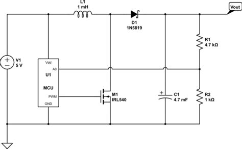 Arduino Microcontroller Controlled Power Supply